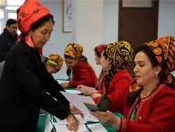 Об итогах выборов в Туркменистане